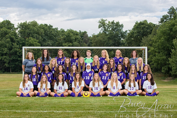 Girls Soccer Team 2016