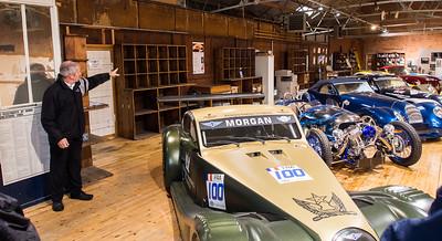 Morgan Cars factory tour