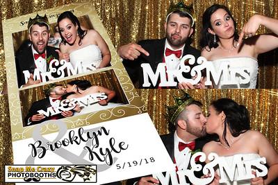 Brooklyn and Kyle Wedding Photo Booth