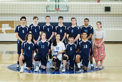 2017 V boys Volleyball