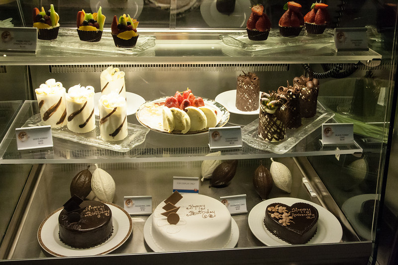Fountain Cafe cakes