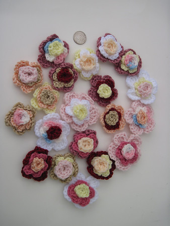 Crochet Works-trims and jewelry