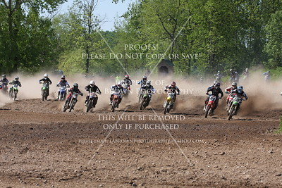 Moto2 16-24 125 Schoolboy Hogback May 17, 2009