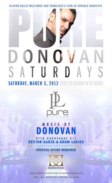 3/3 [Donovan Live@Pure Lounge]