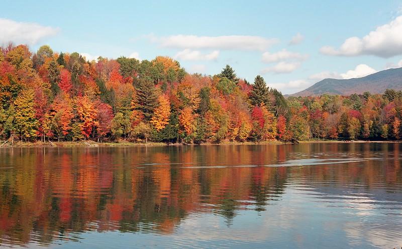 Fall, Waterbury Reservoir