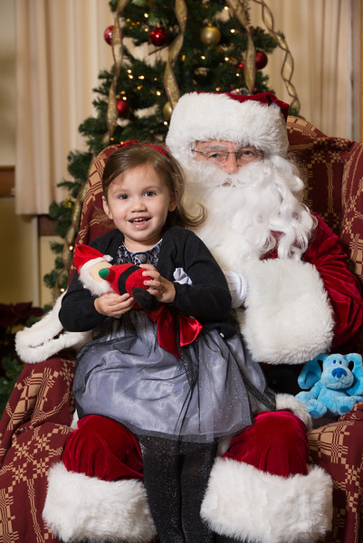 2015 Christmas in Collinsville Photos with Santa
