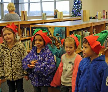 Elementary Students Caroling