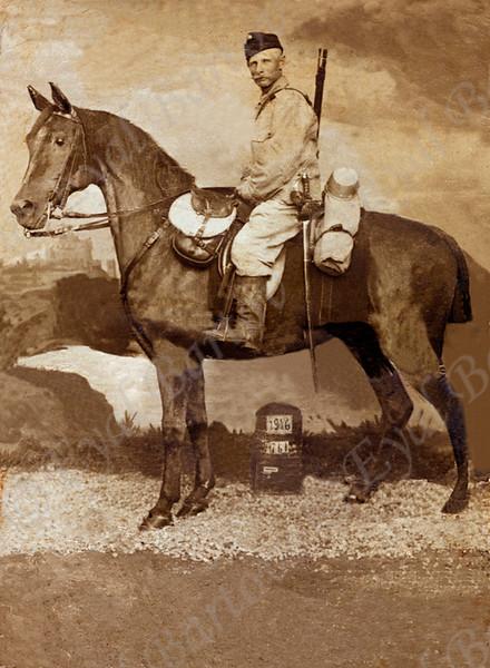 סבא  שלי חיים קצין בגדוד פרשים מלחמת העולם הראשונה