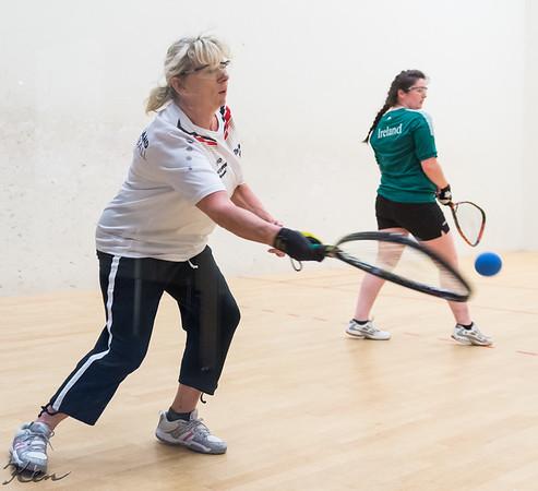 Katie Kenny (Ireland) over Renate Hartmann ( Germany)  (Team play)