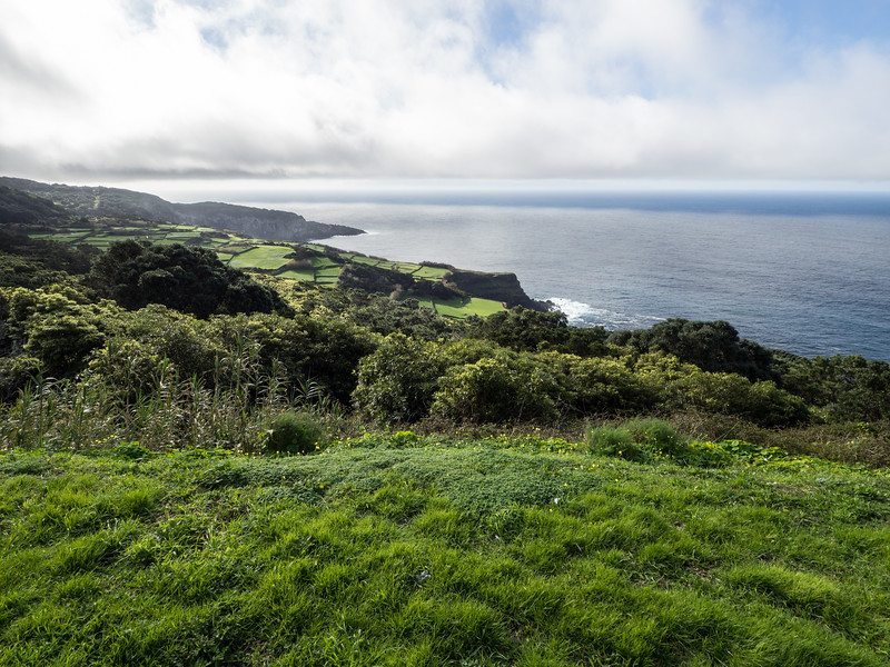 Western coast of Terceira