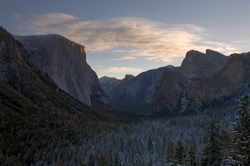 Tunnel View in the Morning