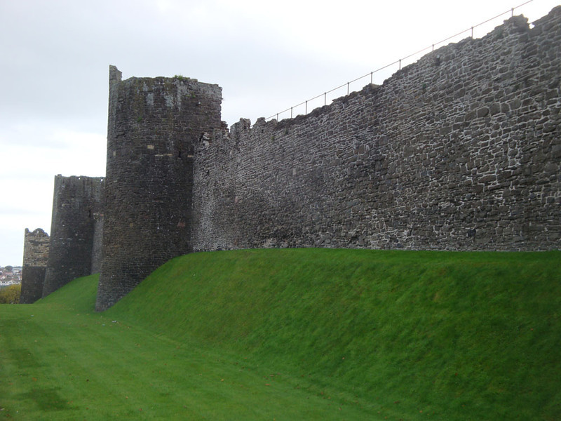 Conwy has a medieval city centre, all of which is contained within massive city walls.