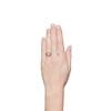 1.02ct Round Brilliant Diamond Bezel Ring 2