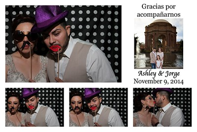 Ashley & Jorge's PhotoBooth
