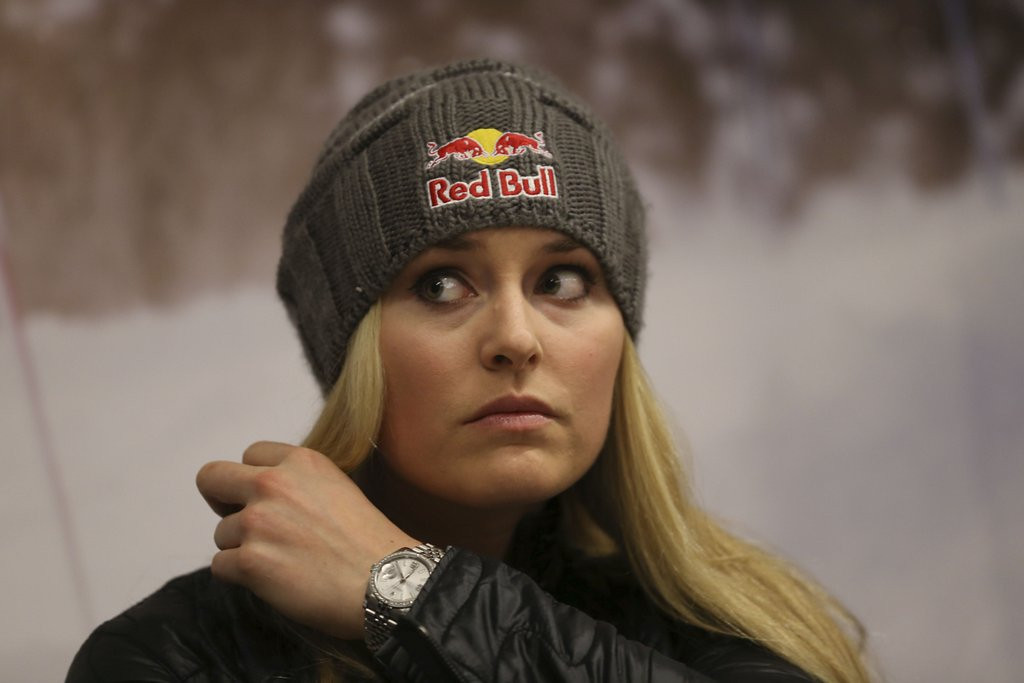 ". <p>7. LINDSEY VONN <p>Hired as Olympics analyst by NBC in the hope it MIGHT get Tiger to tune in. (unranked) <p><b><a href=\'http://www.hollywoodreporter.com/live-feed/lindsey-vonn-nbc-sports-olympics-674603\' target=""_blank\""> HUH?</a></b> <p>  (AP Photo/Luca Bruno)"