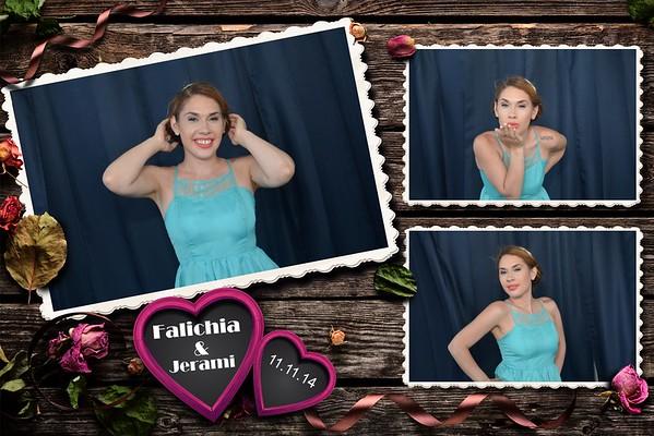 Falichia and Jeremi's wedding 08-15-15