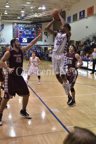 12-05-15 Sports Rossford @ Defiance BBK