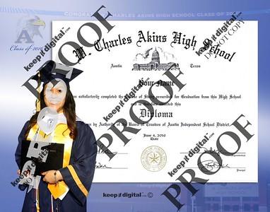2016 Akins HS Keedjit™ Diploma Proofs