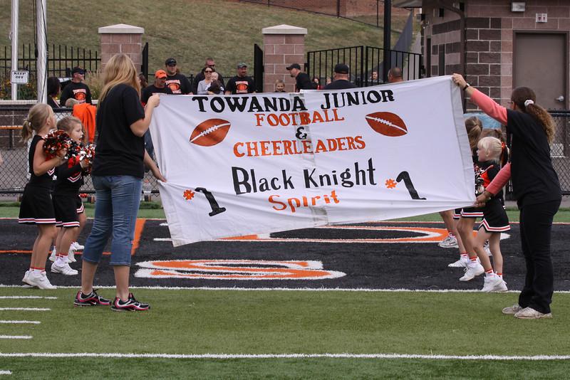 2010 Towanda Jr Football and Cheerleading