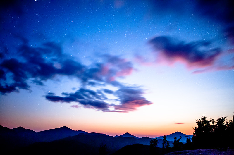 Adirondack Moonset