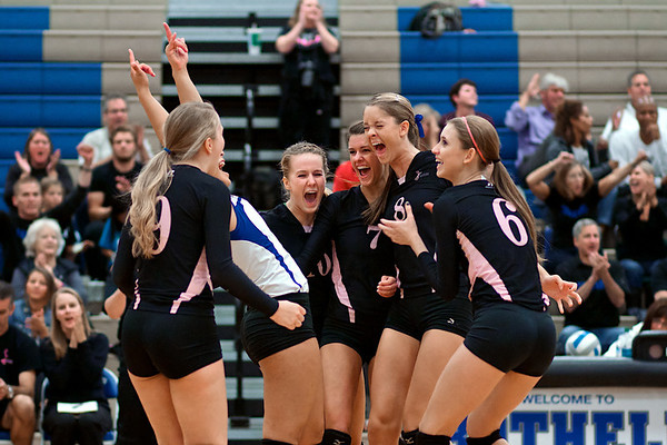 BHS Volleyball v Skyline Oct 3, 2012