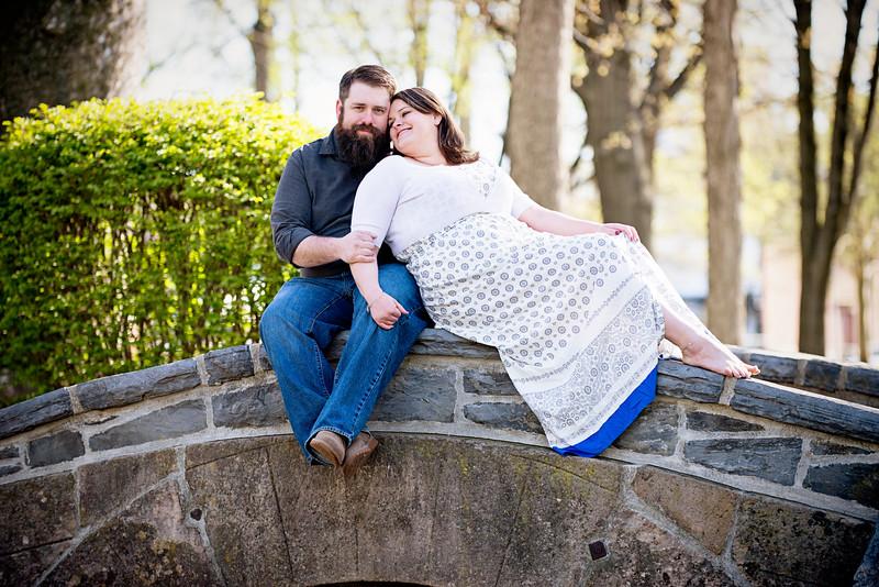 Williamsport Wedding Photographer : 4/26/15 Kelly & Tom Engaged!