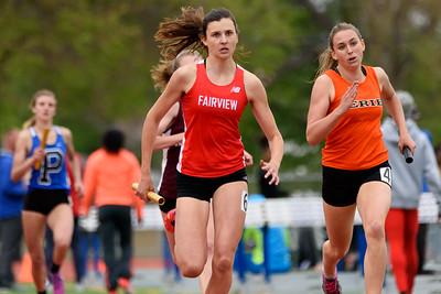sprint medley 800 meters