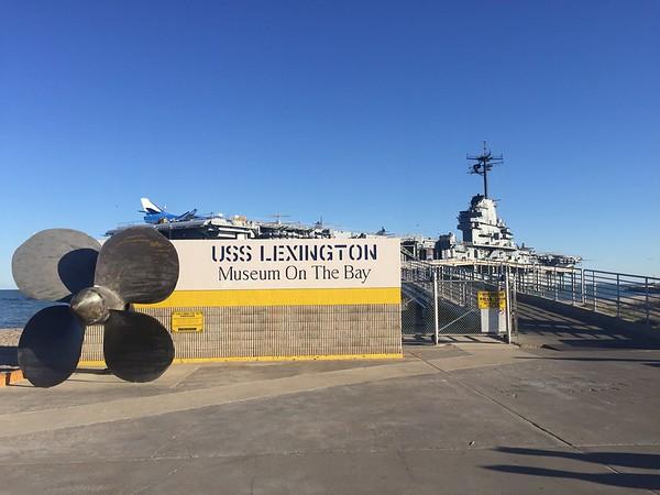 USS Lexington Trip - Corpus Christi