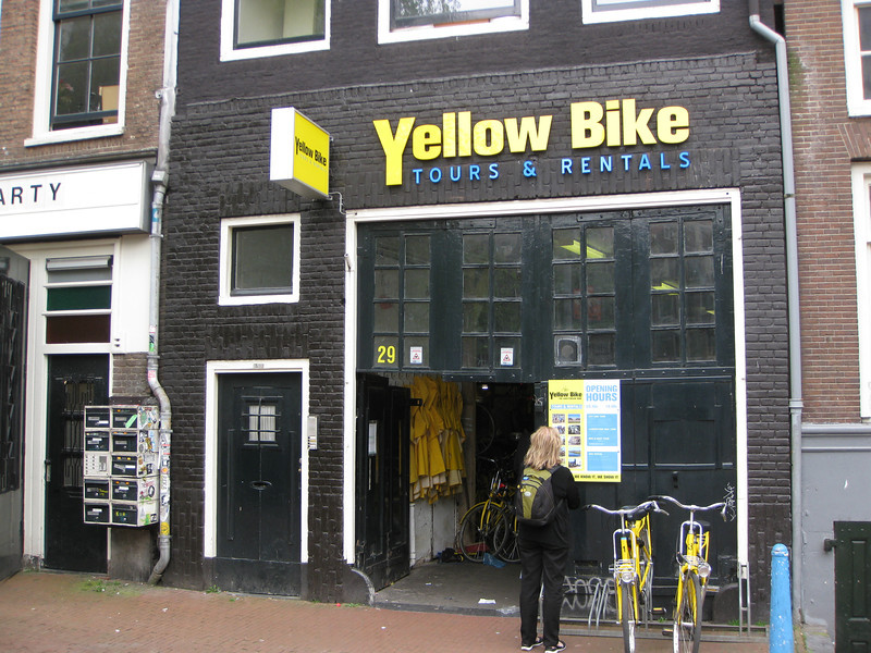 Yellow Bike shop where we started bike tour in 2005