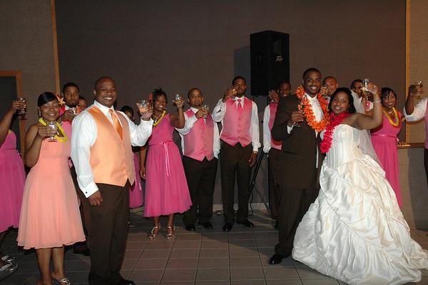 Newman & McCoy Wedding Reception July 5, 2008