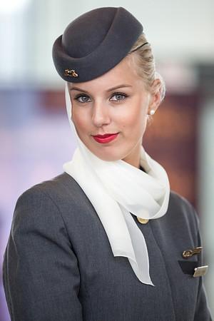 Etihad Airways at Dulles (April 2013)