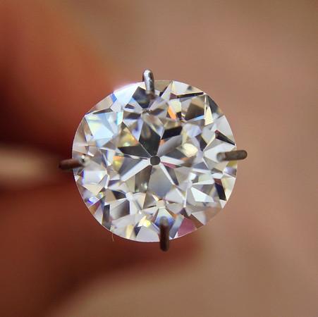 1.92ct Old European Cut Diamond, GIA K, VS2