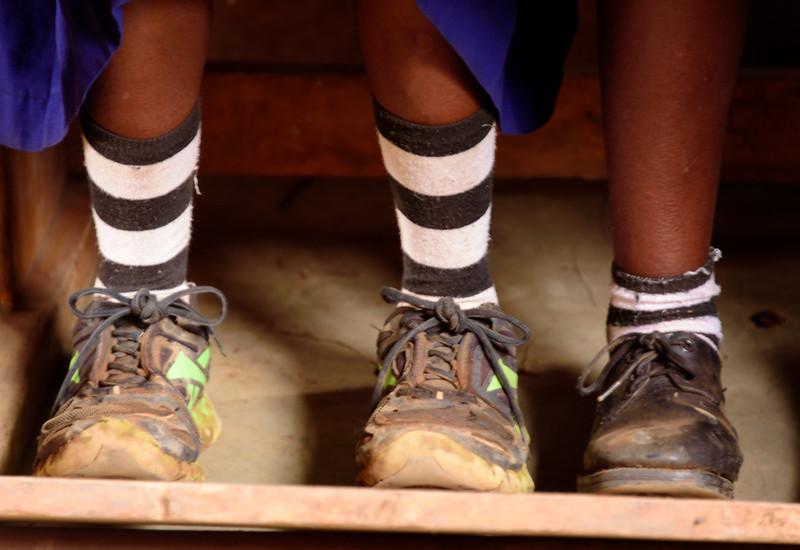 Feet of change