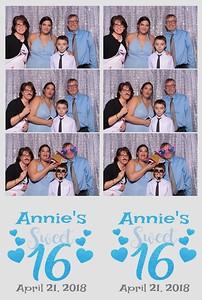 Annie's Sweet Sixteen
