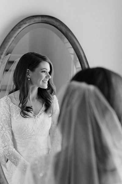 Emily Bridal Prep at her home in Houston, TX