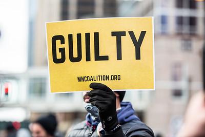 Chauvin Verdict, Minneapolis, April 20