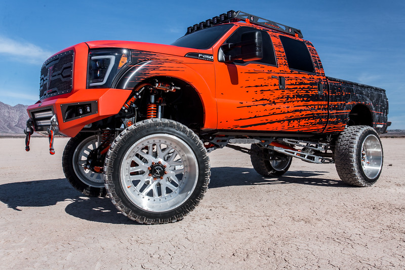 @Truck_Fever 2014 @Ford F250 featuring our 28x16 #CRUX from our Multi-Piece Series wrapped in 42x15.5r28 @FuryOffroadTires-14.jpg