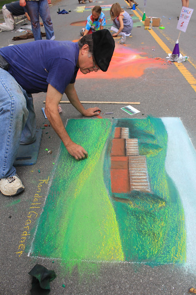 Chalk It Up!-Taste of Woodstock, 2012