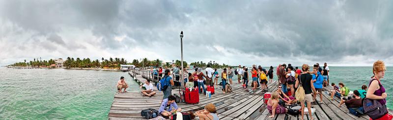 Caye Caulker Dock - Storm Coming.jpg