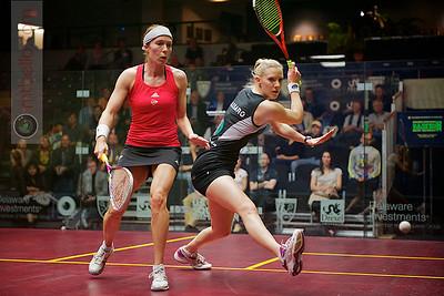 2012 U.S. Open Women's Quarterfinal: Laura Massaro (England) defeated Madeline Perry (Ireland)