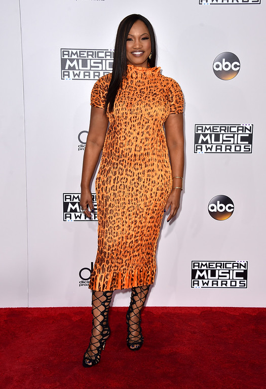 . Garcelle Beauvais arrives at the American Music Awards at the Microsoft Theater on Sunday, Nov. 20, 2016, in Los Angeles. (Photo by Jordan Strauss/Invision/AP)