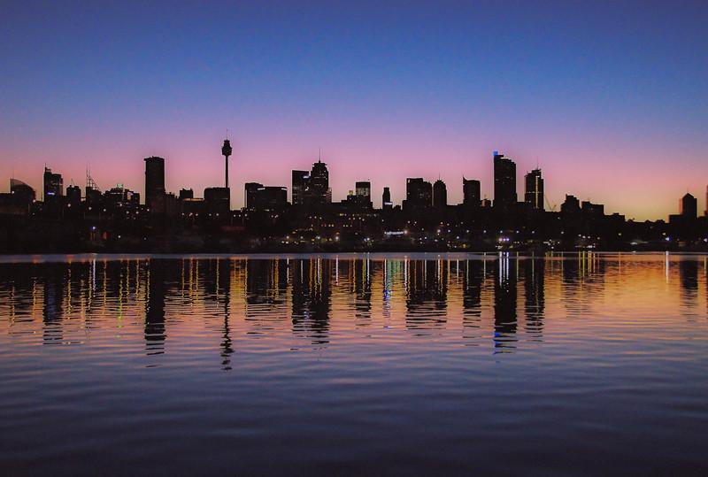 reflections. Australia.