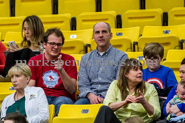 Faculty at the UVU game 2-9-15