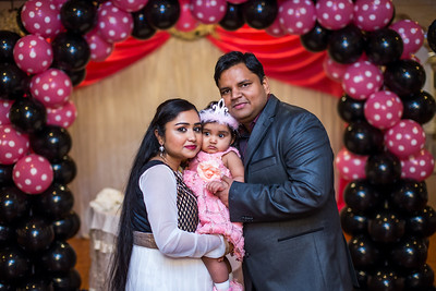Aanyah's 1st Birthday