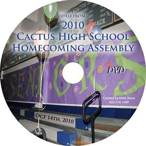 2010 CHS Assembly Video - 10/14/10
