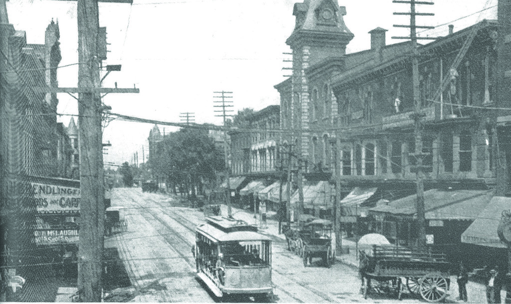 . This undated Times Herald file photo shows Main Street in Norristown.