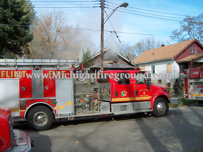 10/30/06 - Flint house fire, 700 block of Gillespie