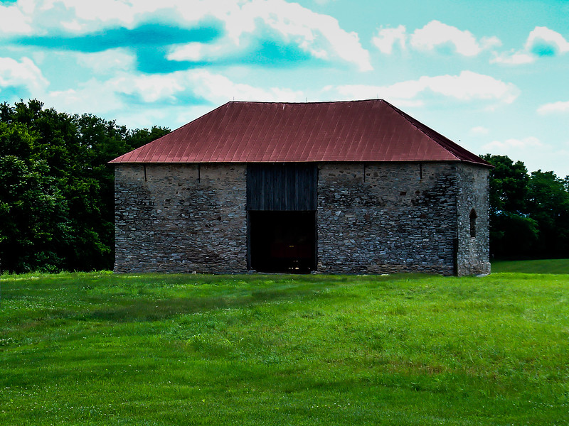 Stone Barn at Best Farm, Monocacy National Battlefield, Maryland