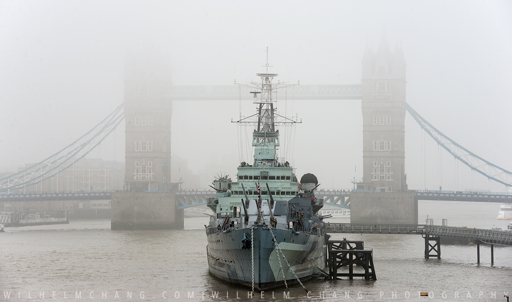 到倫敦攝影 霧都終於有霧 倫敦大霧全記錄