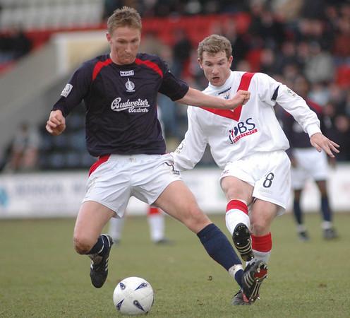 Airdrie United v Falkirk (2.2) 12 3 05